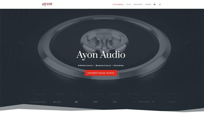 Nowa strona Ayon Audio
